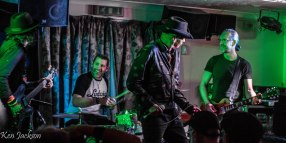 Marcus Malone and Adrian Thomas join the Troy Redfern Band at the Tuesday Night Music Club