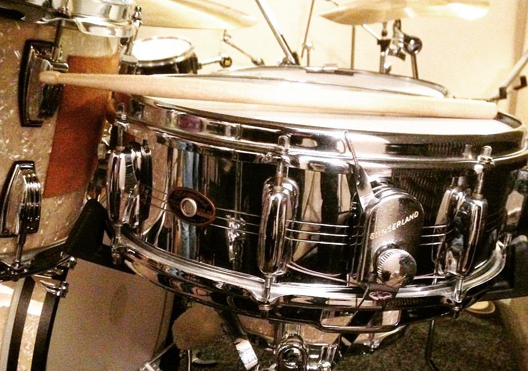 Bob Armstrong's 1960s Slingerland COB Snare Drum © 2017 Alex Bridge